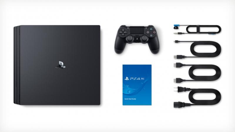 Игровая консоль Sony PlayStation 4 Pro 1TB Black - 1