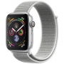 Apple Watch Series 4 44 mm (GPS) Silver Aluminum Case with Seashell Sport Loop (MU6C2)