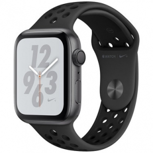 Apple Watch Series 4 Nike+ 44 mm (GPS) Space Gray Aluminum Case with Anthracite/Black Nike Sport Band (MU6L2)