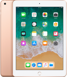 Планшет Apple iPad 2018 Wi-Fi 128GB Gold (MRJP2)