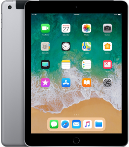 Планшет Apple iPad 2018 Wi-Fi + LTE 32GB Space Gray (MR6Y2)