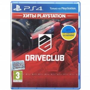 Игра Drive Club PS4 UA