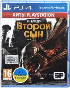 Игра InFamous Второй Сын PS4 UA