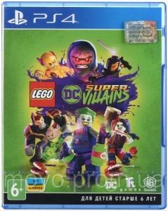 Игра LEGO DC SUPER-VILLAINS PS4 UA