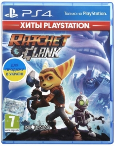 Игра RATCHET&CLANK PS4 UA