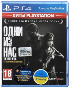 Игра The Last Of Us PS4 UA