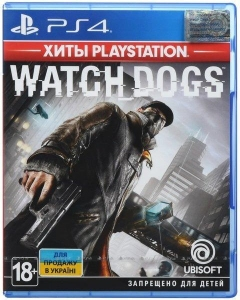 Игра WATCH DOGS PS4 UA