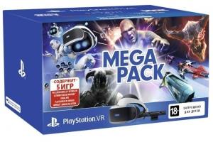 Комплект PS VR Mega Pack (PS VR, PS Camera, 5 Games)