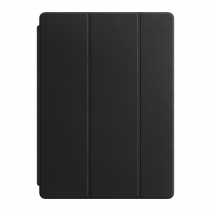 Обложка Apple Leather Smart Cover для iPad Pro 12.9 Black (MPV62)