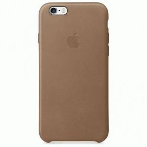 Чехол для Apple iPhone 6s Leather Case Brown (MKXR2)