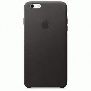 Чехол для Apple iPhone 6s Plus Leather Case Black (MKXF2)