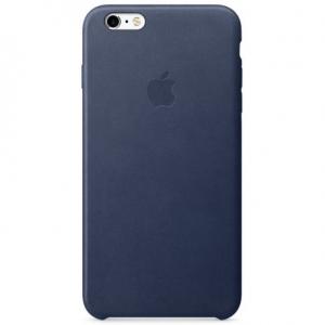 Чехол для Apple iPhone 6s Plus Leather Case Midnight Blue (MKXD2)