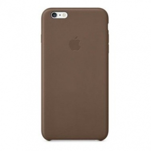 Чехол для Apple iPhone 6s Plus Leather Case Olive Brown (MGQR2ZM/A)