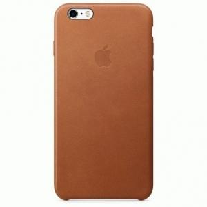 Чехол для Apple iPhone 6s Plus Leather Case Saddle Brown (MKXC2)