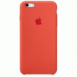 Чехол для Apple iPhone 6s Plus Silicone Case Orange (MKXQ2)