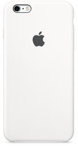 Чехол для Apple iPhone 6s Plus Silicone Case White (MKXK2)