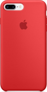Чехол для Apple iPhone 8 Plus / 7 Plus Silicone Case (PRODUCT) RED (MMQV2/MQH12)