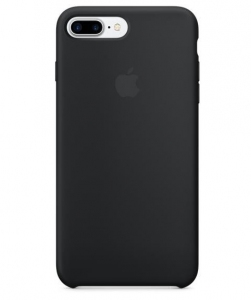 Чехол для Apple iPhone 8 Plus / 7 Plus Silicone Case Black (MMQR2/MQGW2)