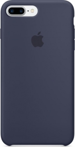 Чехол для Apple iPhone 8 Plus / 7 Plus Silicone Case Midnight Blue (MMQU2/MQGY2)
