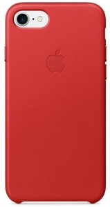 Чехол для Apple iPhone 8 / 7 Leather Case (PRODUCT) RED (MMY62)