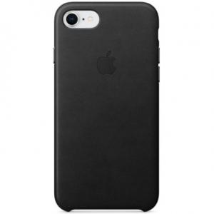 Чехол для Apple iPhone 8 / 7 Leather Case Black (MMY52/MQH92)