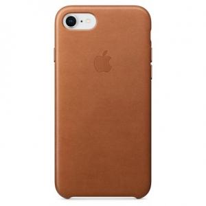 Чехол для Apple iPhone 8 / 7 Leather Case Saddle Brown (MMY22/MQH72)