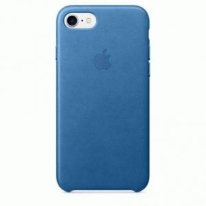 Чехол для Apple iPhone 8 / 7 Leather Case Sea Blue (MMY42)