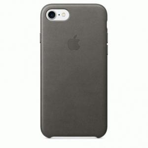 Чехол для Apple iPhone 8 / 7 Leather Case Storm Gray (MMY12)