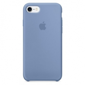 Чехол для Apple iPhone 8 / 7 Silicone Case Azure (MQ0J2)