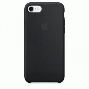 Чехол для Apple iPhone 7 Silicone Case Black (MMW82)