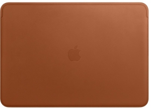 Чехол для Apple MacBook Pro 15 Retina 2016/17 Leather Sleeve Saddle Brown (MRQV2)