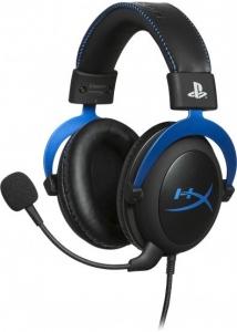 Гарнитура проводная игровая HyperX Cloud Blue для PS4
