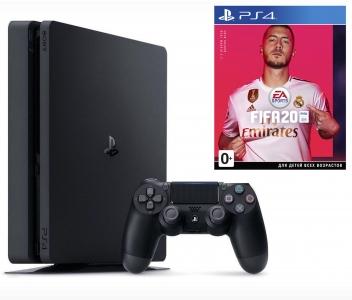 Игровая консоль Sony PlayStation 4 Slim 1TB + FIFA 20