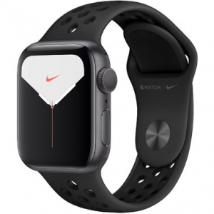 Apple Watch Series 5 Nike+ 44 mm (GPS + LTE) Space Gray Aluminum Case with Anthracite/Black Nike Sport Band (MX3A2/MX3F2)