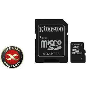 Карта памяти Kingston 8Gb microSDHC class 4 (SDC4/8GB)