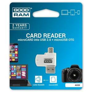 Считыватель флеш-карт GOODRAM AO20-MW01R11