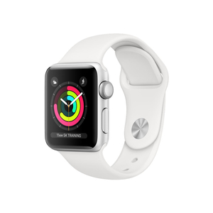 Смарт-часы Apple Watch Series 3 GPS, 38mm Silver Aluminium Case (MTEY2FS/A)