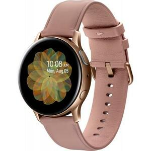 Смарт-часы Samsung SM-R820 Galaxy Watch Active 2 44mm Stainless Steel Gold (SM-R820NSDASEK)