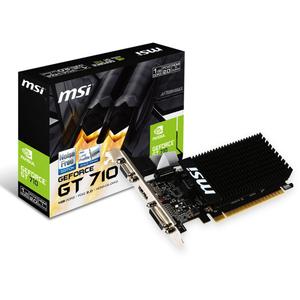 Видеокарта GeForce GT710 1024Mb MSI (GT 710 1GD3H LP)