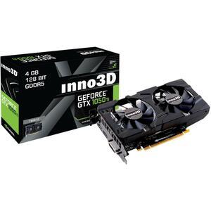 Видеокарта INNO3D GeForce GTX1050 Ti 4096Mb HerculeZ Twin X2 (N105T-1DDV-M5CM)