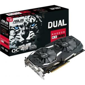 Видеокарта ASUS Radeon RX 580 4096Mb DUAL OC (DUAL-RX580-O4G)