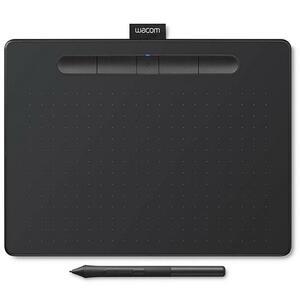 Графический планшет Wacom Intuos M Bluetooth black (CTL-6100WLK-N)