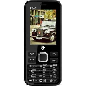 Мобильный телефон 2E E240 Dual Sim Black (708744071132)