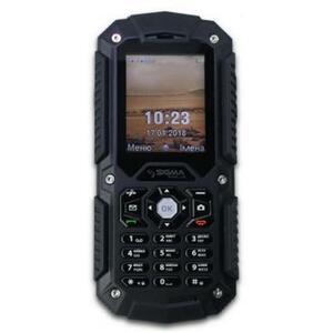 Мобильный телефон Sigma X-treme PQ67 Dual Sim Black (4827798373729)