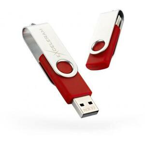 USB флеш накопитель eXceleram 32GB P1 Series Silver/Red USB 2.0 (EXP1U2SIRE32)