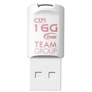 USB флеш накопитель Team 16GB C171 White USB 2.0 (TC17116GW01)