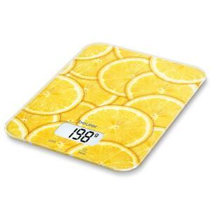 Весы кухонные BEURER KS 19 lemon (4211125/704.08/7)