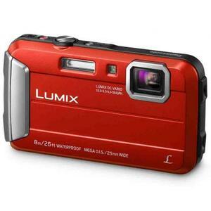 Цифровой фотоаппарат PANASONIC DMC-FT30EE-R Red (DMC-FT30EE-R)