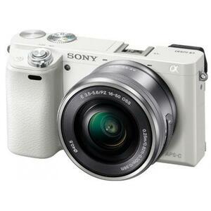 Цифровой фотоаппарат SONY Alpha 6000 kit 16-50mm White (ILCE6000LW.CEC)