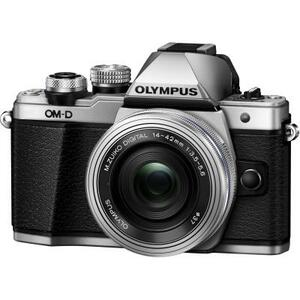 Цифровой фотоаппарат OLYMPUS E-M10 mark II Pancake Zoom 14-42 Kit silver/silver (V207052SE000)